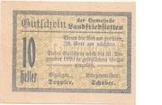10 Heller (Landfriedstetten) -  obverse