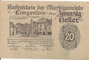 20 Heller (Langenlois) -  obverse