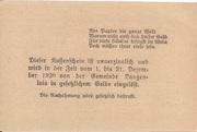 20 Heller (Langenlois) -  reverse