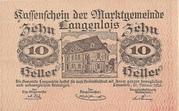 10 Heller (Langenlois) -  obverse