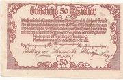 50 Heller (Langenstein) -  reverse