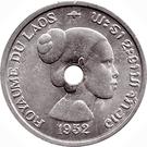 10 Cents - Sisavang Vong – obverse