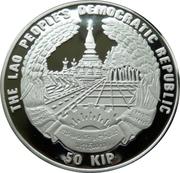 50 Kip (Olympics) – obverse
