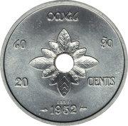 20 Cents - Sisavang Vong (Essai) – reverse