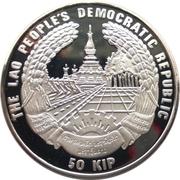 50 Kip (XXVII Summer Olympic Games 2000 Sydney) – obverse