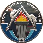 50 Kip (XXVII Summer Olympic Games 2000 Sydney) – reverse