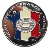 50 Kip (World Cup Soccer - France) – reverse