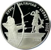 50 Kip (XXVII Olympiad) – reverse