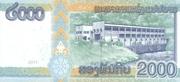 2000 Kip – reverse
