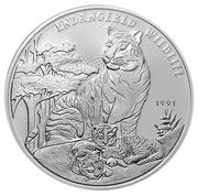 50 Kip (Endangered Wildlife; Piedfort) – reverse