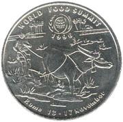10 Kip (World Food Summit) – reverse
