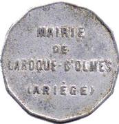 25 Centimes - Mairie de Laroque d'Olmes -  Ariège (09) – obverse