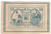 50 Heller (Lasberg) – obverse