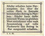 1 Pfennig (Carl Duden) – reverse