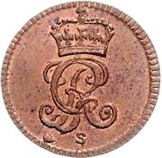 ½ Dreiling - George II. – obverse