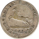8 Schilling - Georg II. August – obverse