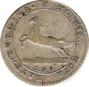 8 Schilling - Georg II. August – obverse