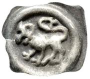 """Pfennig """"Vierzipfliger Löwenpfennig"""" – obverse"""