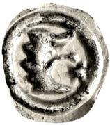 """1 Pfennig """"Löwenkopf Vierzipfliger"""" – reverse"""