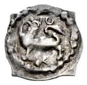 """1 Pfennig """"Vierzipfliger Löwenpfennig"""" – obverse"""
