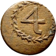 ½ Kreuzer (Kipper) – reverse