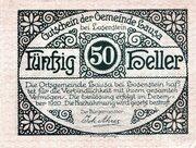 50 Heller (Lausa bei Losenstein) -  obverse