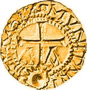 Tremissis - Floricius (Lausonna) – reverse