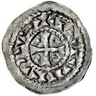 Denar - Rudolf III (Tabernis, Burgundian Mint) – obverse
