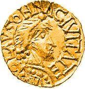 Tremissis - Floricius (Lausonna) – obverse