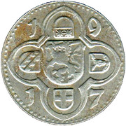 10 Pfennig - Lauterbach – reverse