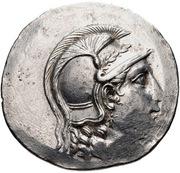 Tetradrachm - Apollodotos – obverse