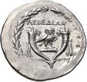 Tetradrachm - Apollodotos – reverse