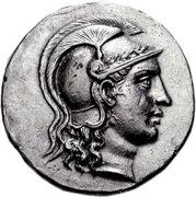 Tetradrachm - Athenaios – obverse