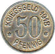 50 Pfennig - Leer in Ostfriesland – reverse