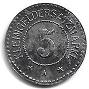 5 Pfennig - Lehesten – reverse