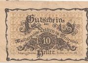 10 Heller (Leiben) – obverse