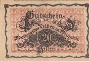 20 Heller (Leiben) – obverse