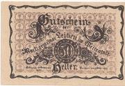 50 Heller (Leiben) – obverse