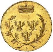6 Kreuzer - Karl Friedrich Wilhelm (Gold Pattern) – obverse