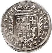 15 Kreuzer - Georg Wilhelm – reverse
