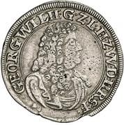 15 Kreuzer - Georg Wilhelm – obverse