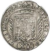 15 Kreuzer - Georg Wilhelm -  reverse
