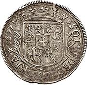 1 Guldenthaler - Georg Wilhelm – reverse