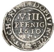8 Pfennig - Ludwig – reverse