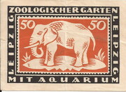 50 Pfennig (Zoologischer Garten) – reverse