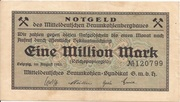 1,000,000 Mark (Mitteldeutsches Braunkohlen-Syndikat) – obverse