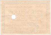 1,000,000 Mark (Teppichfabrikzentrale) – reverse