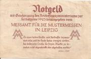 2,000,000 Mark (Messamt für die Mustermessen in Leipzig) – reverse