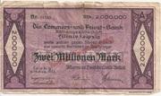 2,000,000 Mark (Allgemeine Deutsche Credit-Anstalt) – obverse