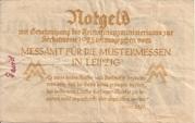 1,000,000 Mark  (Messamt für die Mustermessen in Leipzig) – reverse